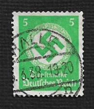 Buy German Hinged Scott #O82 Catalog Value $1.10