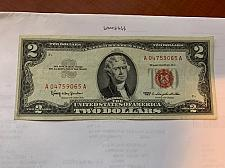 Buy United States Jefferson $2 red circulated banknote 1963 #2