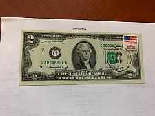 Buy United States Jefferson $2 uncirc. banknote 1976 with stamp #1