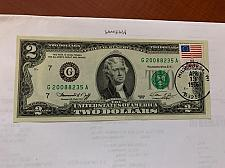 Buy United States Jefferson $2 uncirc. banknote 1976 with stamp #3