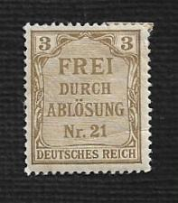Buy Germany Hinged Scott #OL2 Catalog Value $1.15