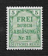 Buy German MNH #OL3 Catalog Value $.48