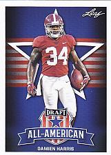 Buy Damien Harris #77 - Patriots 2019 Leaf Rookie Football Trading Card