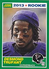 Buy Desmond Trufant #398 - Falcons 2013 Score Rookie Football Trading Card