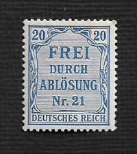 Buy German MNH #OL5 Catalog Value $.48