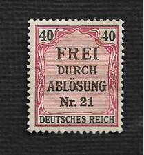 Buy Germany Hinged Scott #OL7 Catalog Value $.75