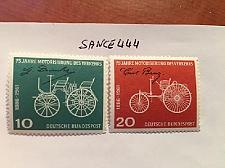 Buy Germany 75 years automobiles mnh 1961 stamps