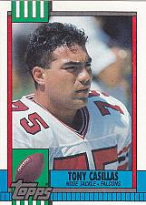 Buy Tony Casillas #479 - Falcons 1990 Topps Football Trading Card