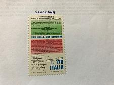 Buy Italy Costituzione 1978 mnh stamps