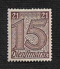 Buy Germany Hinged Scott #OL11 Catalog Value $.25