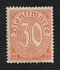 Buy Germany Hinged Scott #OL13 Catalog Value $.25