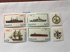 Buy Italy Ships and tabs 1978 mnh stamps