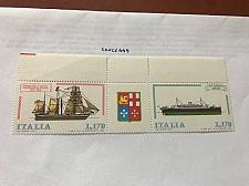 Buy Italy Ships strip 1977 mnh stamps b