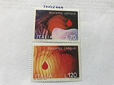 Buy Italy Give blood 1977 mnh stamps