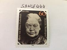 Buy Germany Ebner Eschenbach mnh 1980 stamps