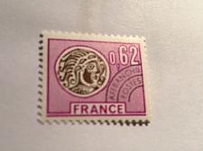 Buy France Celtic Coin 0.62 Precanc. mnh 1976 stamps