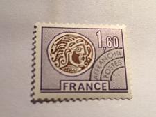 Buy France Celtic Coin 1.60 Precanc. mnh 1976 stamps