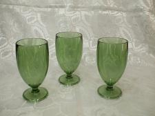 Buy Heavy Duty Green Plastic Water Goblets