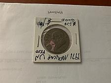 Buy Mexico 1 peso circulated coin 1971