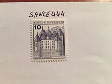 Buy Germany Castle 10p top imperf. mnh 1990 stamps