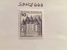 Buy Germany Castle 10p bottom imperf. mnh 1987 stamps