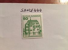 Buy Germany Castle 50p bottom imperf. mnh 1990 stamps