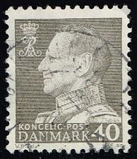 Buy Denmark #388 King Frederik IX; Used (0.25) (4Stars)  DEN0388-08
