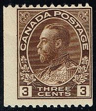 Buy Canada #134 King George V; Unused (2Stars) |CAN0134-01XRP