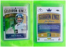 Buy NFL JOE FLACCO BALTIMORE RAVENS 2016 PANINI OPTIC GRIDIRON KINGS FOOTBALL #28