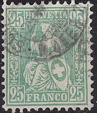 Buy SCHWEIZ SWITZERLAND [1867] MiNr 0032 b ( O/used )
