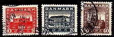 Buy DÄNEMARK DANMARK [1920] MiNr 0110-12 ( O/used )