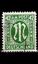 Buy GERMANY Alliiert AmBri [1945] MiNr 0031 C ( O/used )