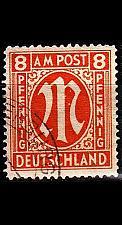 Buy GERMANY Alliiert AmBri [1945] MiNr 0014 B ( O/used )