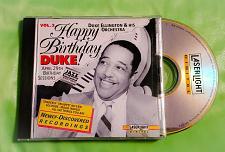 Buy DUKE ELLINGTON HAPPY BIRTHDAY SESSIONS COMPACT DISC GD/VG