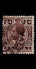 Buy MALTA [1914] MiNr 0041 b ( O/used )