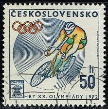 Buy Czechoslovakia #1813 Olympic Cycling; CTO (3Stars)  CZE1813-01