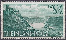 Buy GERMANY Alliiert Franz. Zone [RheinlPfalz] MiNr 0014 y ( O/used )