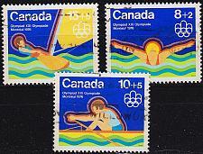 Buy KANADA CANADA [1975] MiNr 0582-84 ( O/used ) Olympiade