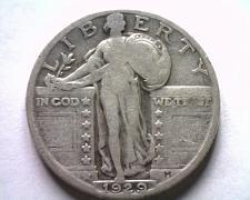 Buy 1929 STANDING LIBERTY QUARTER FINE F NICE ORIGINAL COIN BOBS COINS FAST SHIPMENT