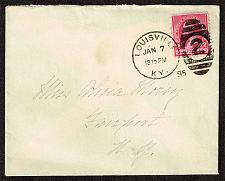 Buy US #220 on cover - Louisville KY to Fairport NY (3Stars) |USACVRLOT-13XCF