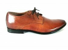 Buy Aldo Brown Leather Toned Toe Lace Up Oxford Dress Shoes Men's 8 (SM5)