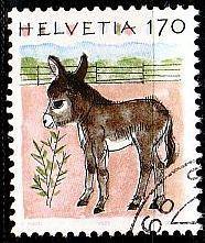 Buy SCHWEIZ SWITZERLAND [1995] MiNr 1566 ( O/used ) Tiere