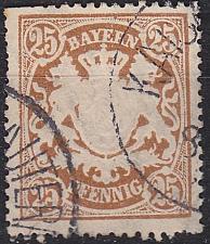 Buy GERMANY Bayern Bavaria [1888] MiNr 0058 A ( O/used )