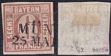 Buy GERMANY Bayern Bavaria [1849] MiNr 0004 I ( O/used ) [01]