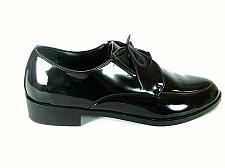 Buy Pronto Uomo Black Patent Leather Lace Up Oxford Dress Shoes Men's 12 D (SM4)