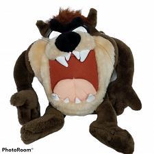 "Buy VTG Looney Tunes Brown Taz Tasmanian Devil Plush ACE Stuffed Animal 1997 15"""