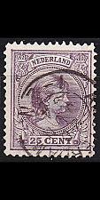 Buy NIEDERLANDE NETHERLANDS [1891] MiNr 0042 a ( O/used )