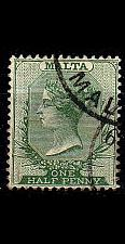 Buy MALTA [1885] MiNr 0004 ( O/used )