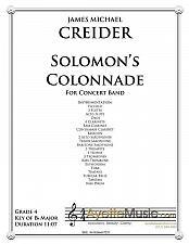 Buy Creider - Solomons Colonnade for Concert Band