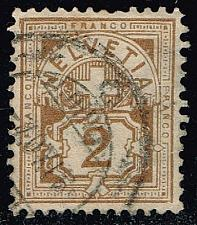 Buy Switzerland #113 Numeral; Used (2.75) (2Stars) |SWI0113-03XRS